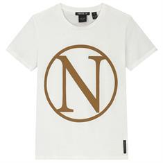 Nik & nik g Kim n t-shirt 2000 Creme