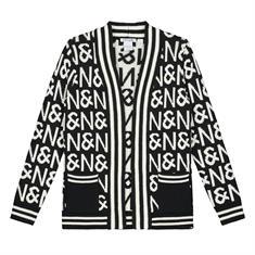 Nik & nik g N&N Cardigan Zwart