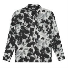 Nik & nik g Nery tie dye shirt 9000 Zwart