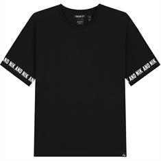 Nik & nik g Regan t-shirt 9000 Zwart