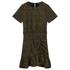 Nik & nik g Valie zebra dress 6702 Army