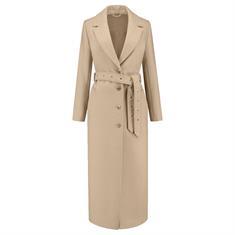 Nikkie Atlas coat 2535 Zand