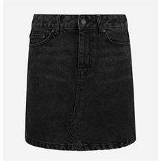 Nikkie Denim skirt Zwart