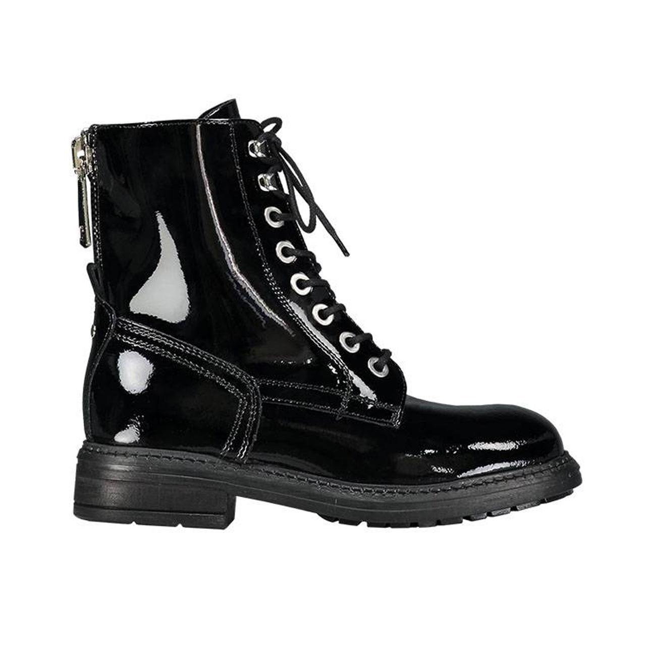 Nikkie Chaussures Noir Avec Fermeture Éclair Pour Les Femmes r00Njh2