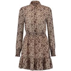 Nikkie Flower dusty dress 2535 Zand