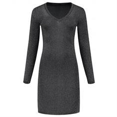 Nikkie Jolisa V-neck dress Zwart