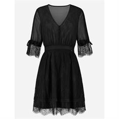 Nikkie Kate Flora dress Zwart