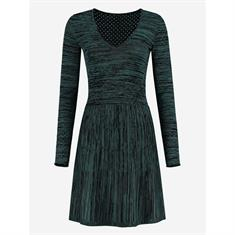 Nikkie Kyra dress 7021 Groen dessin