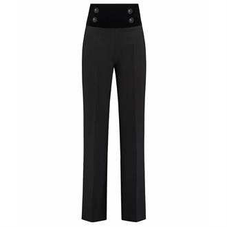 Nikkie Lady high waist pants Zwart