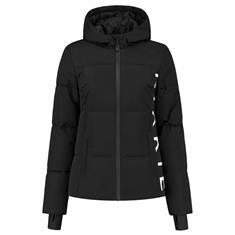 Nikkie Logo chest ski jacket 9000 Zwart