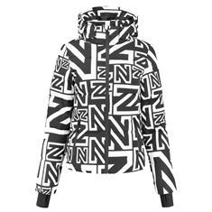 Nikkie Logo mix jacket Zwart