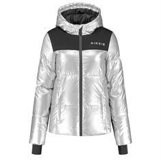 Nikkie Logo silver ski jacket Zilver