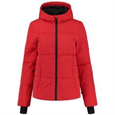 Nikkie logo ski jacket Rood