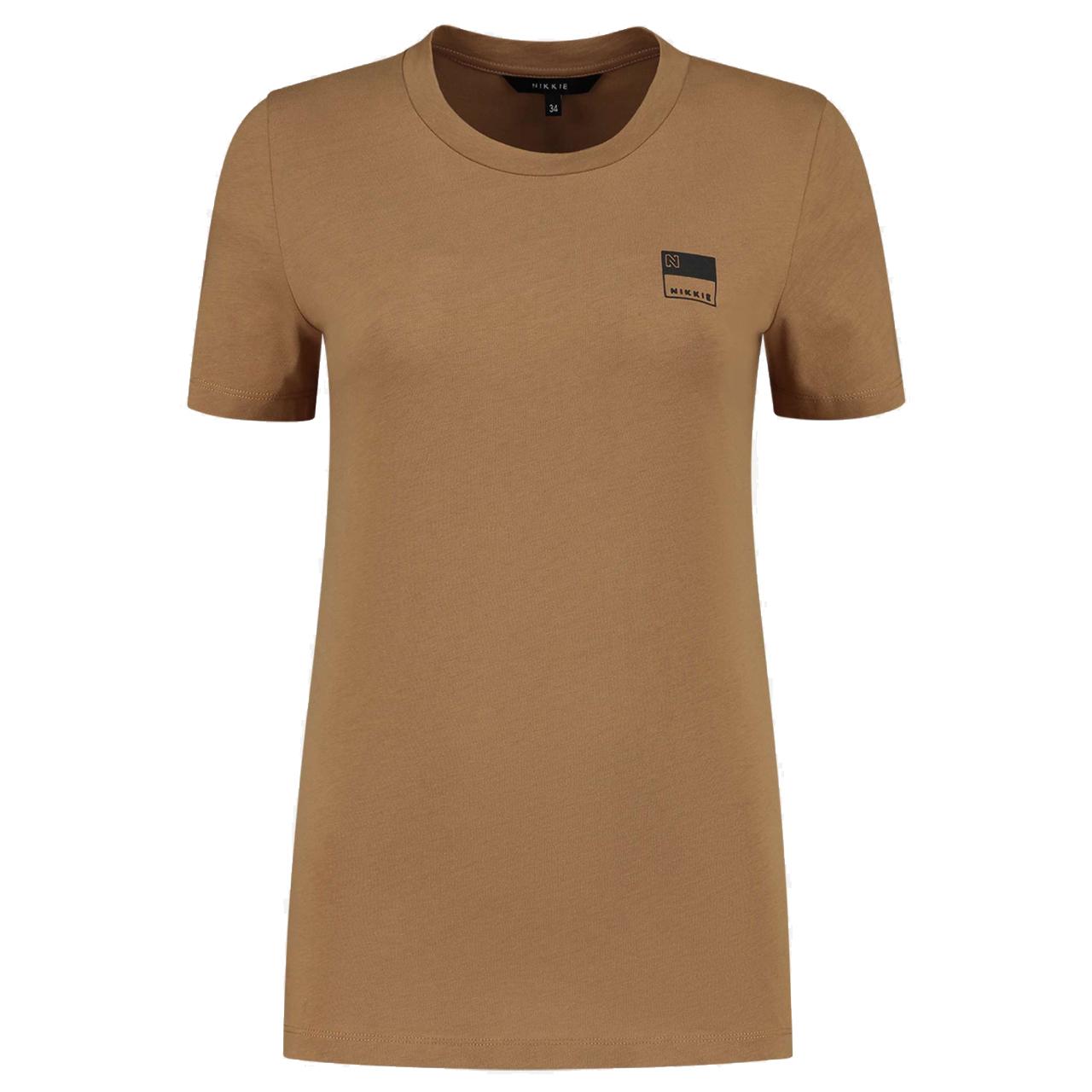 Nikkie Nikki n t-shirt loungewear 50 Bruin - in Pyjama's & Loungewear