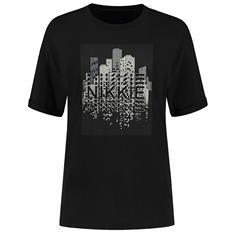 Nikkie Skyline t-shirt 9000 Zwart