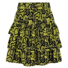 Nikkie Snakey skirt 6963 Groen