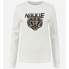 Nikkie tiger sweater 1027 Wit