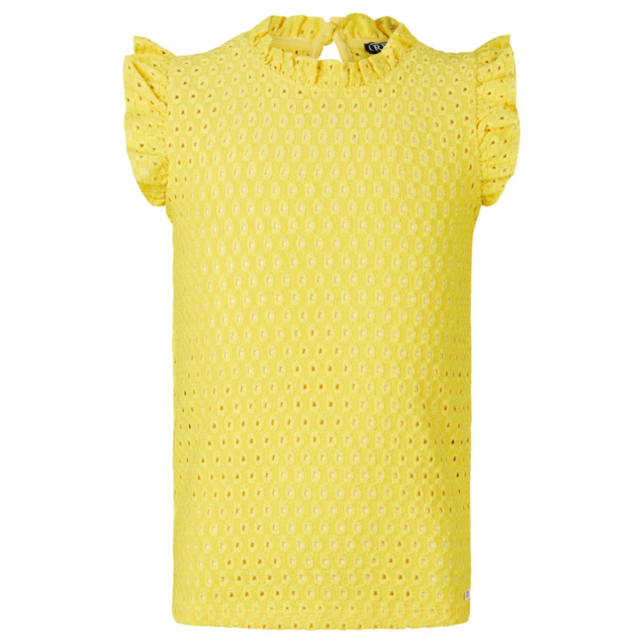 Retour girl Fay 3026 yellow Geel - in Meisjes