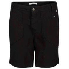 Summum Loose fit shorts flowly Zwart