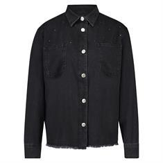 Summum Shirt marital light weight 493 Zwart