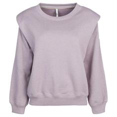 Summum Sweater padded shoulder 548 Paars