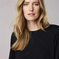 Summum Sweater viscose polymide 990 Zwart