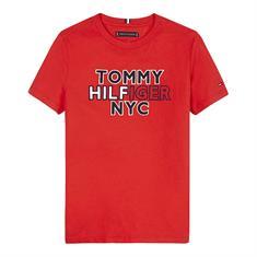 Tommy Hilfiger Boys KB0KB05848 Rood