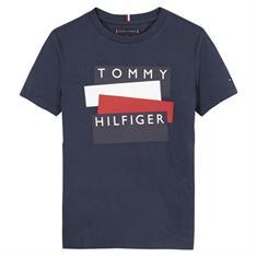 Tommy Hilfiger Boys KB0KB05849 Donkerblauw
