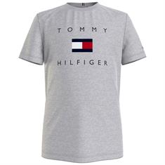 Tommy Hilfiger Boys Pz1 Lichtgrijs
