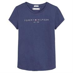 Tommy Hilfiger Girls C87 essential Donkerblauw
