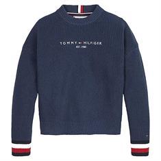 Tommy Hilfiger Girls KG0KG06184 Donkerblauw