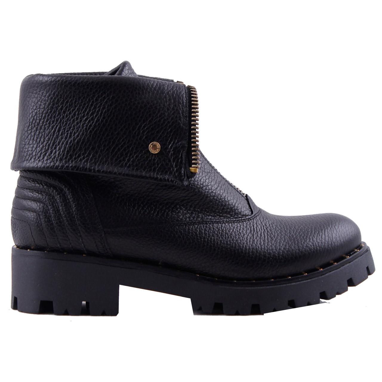 Chaussures Zwarte Tosca Blu Bottes De Motard Sf1713s244 KD5cMJLXm