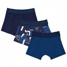 Vingino boys B-213-5 logo 100 Donkerblauw
