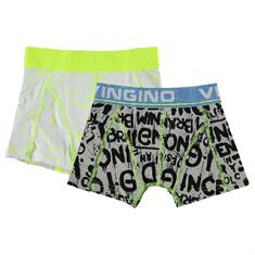 Vingino boys Short daan 2-pack Donkerblauw