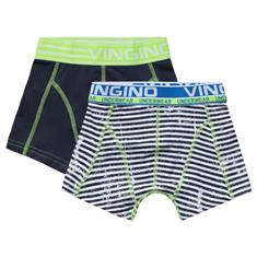 Vingino boys Short mats 2-pack Donkerblauw