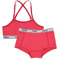 Vingino girl Set solide Rood