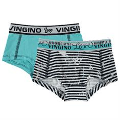 Vingino girl Short amore 2-pack Donkerblauw